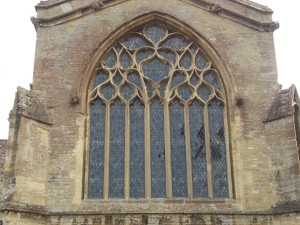 N transept N window, Witney