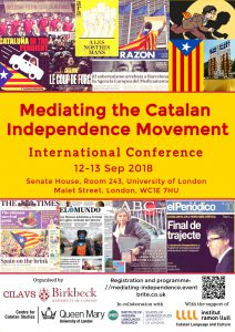 Mediating the Catalan Independence Movement