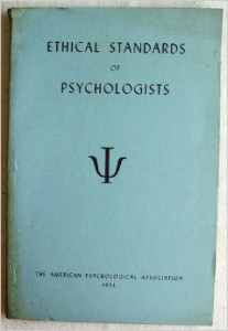 1953 ethics book cover