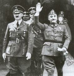 L cells Franco and Hitler