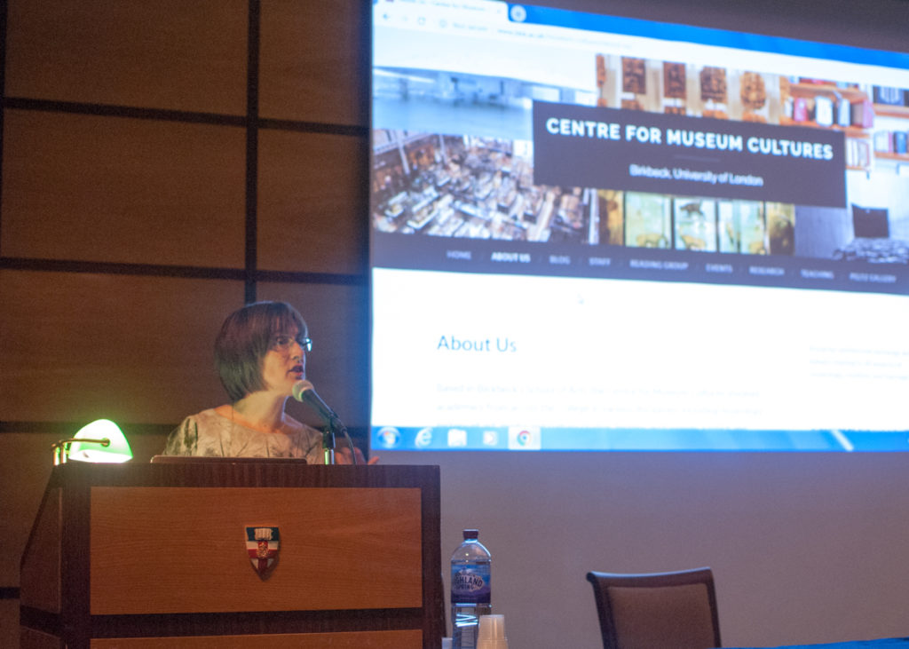 Leslie Topp launches the research centre for museum cultures