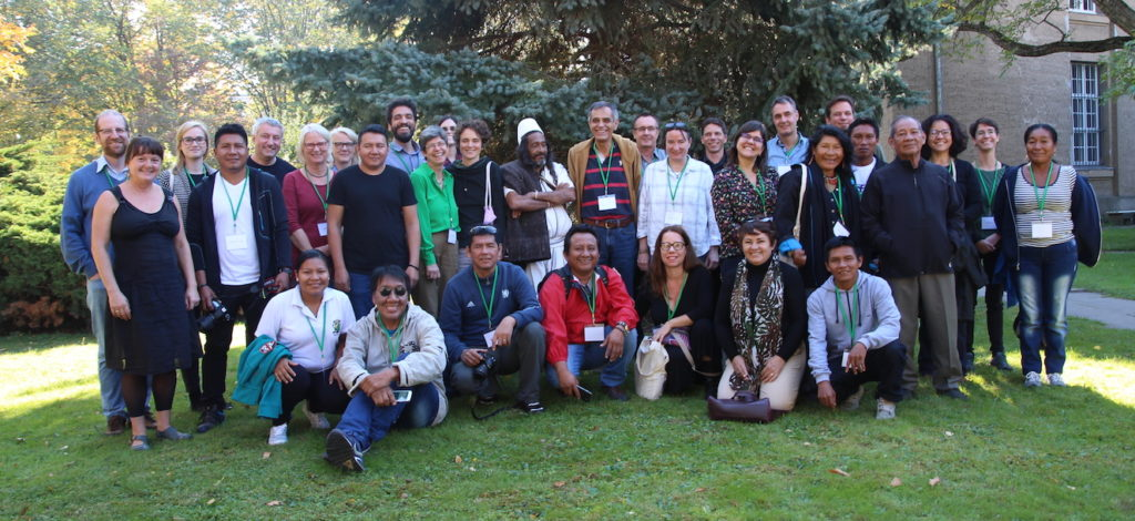 Participants at conference on Amazonia in Berlin. Photo @ Natalia Paiva
