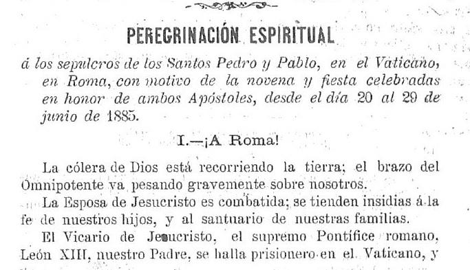'Boletín oficial del Arzobispado de Santiago', Año XXIV Núm. 1003 (23/05/1885)