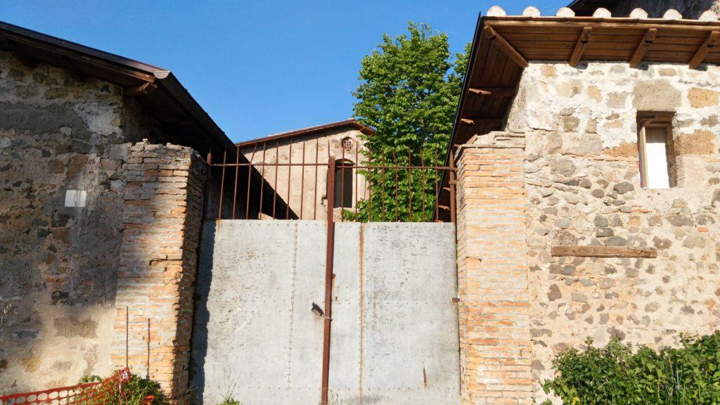 Image 10. Exterior of Santa Maria di Foro Cassio, as seen in 2017. ©2017 Daniela Giosuè