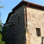 Image 14. Exterior of Santa Maria di Foro Cassio, as seen in 2017. ©2017 Daniela Giosuè