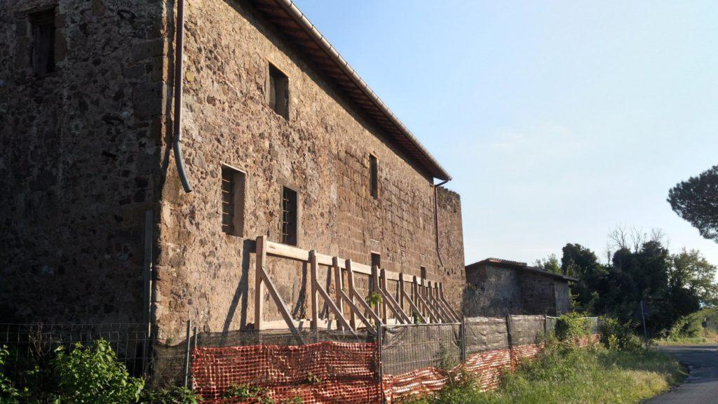 Image 15. Exterior of Santa Maria di Foro Cassio, as seen in 2017. ©2017 Daniela Giosuè