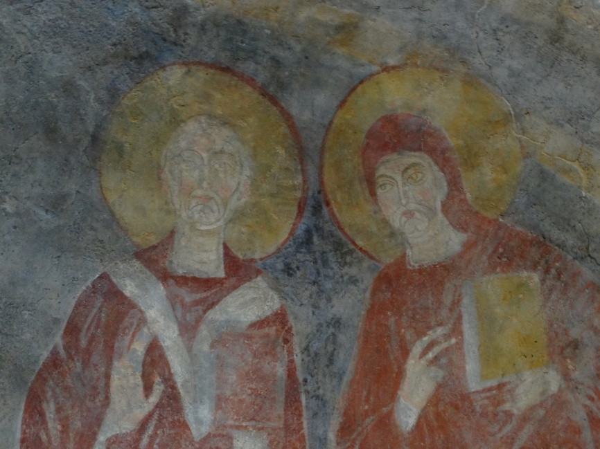 Image 19. Santa Maria di Foro Cassio, left absidiole, particular © 2015 Carlo Tedeschi