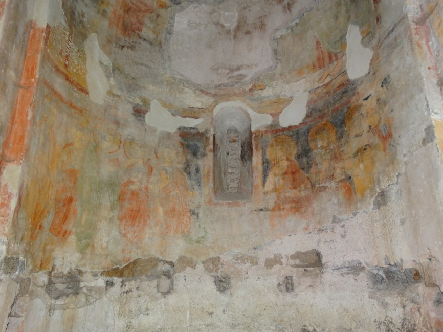 Image 29. Santa Maria di Foro Cassio, central apse. ©2015 Carlo Tedeschi