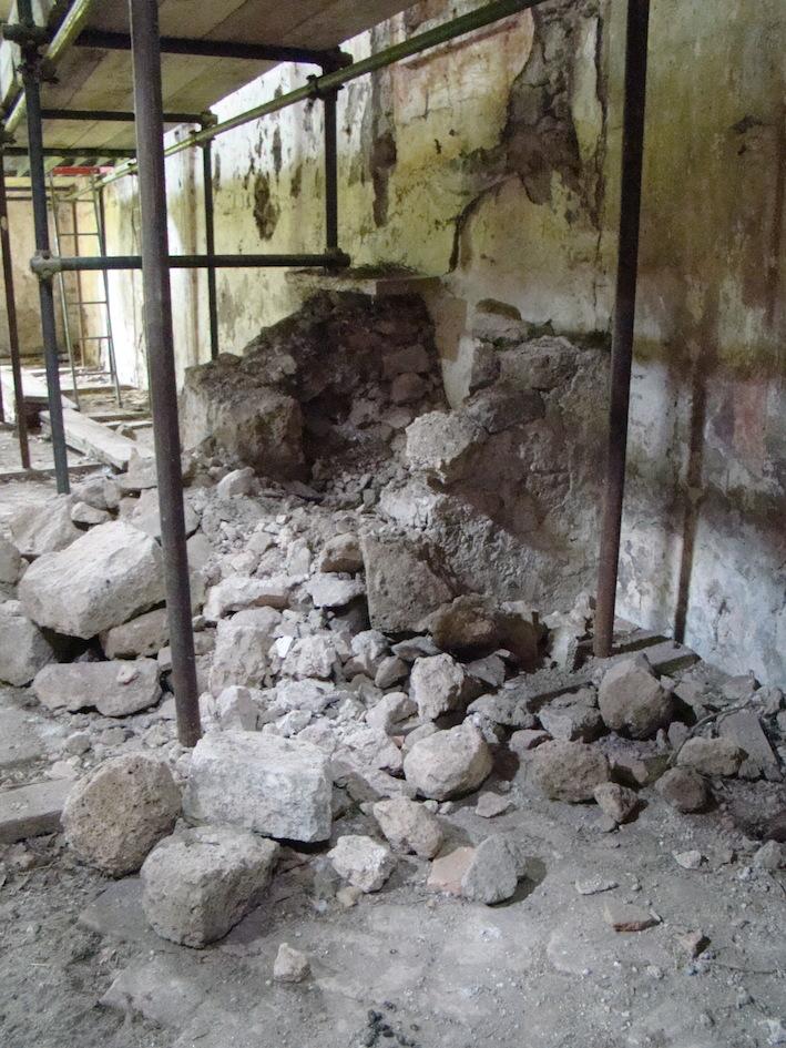 Image 3. Interior of Santa Maria di Foro Cassio, as seen in 2009. ©2009 Carlo Tedeschi
