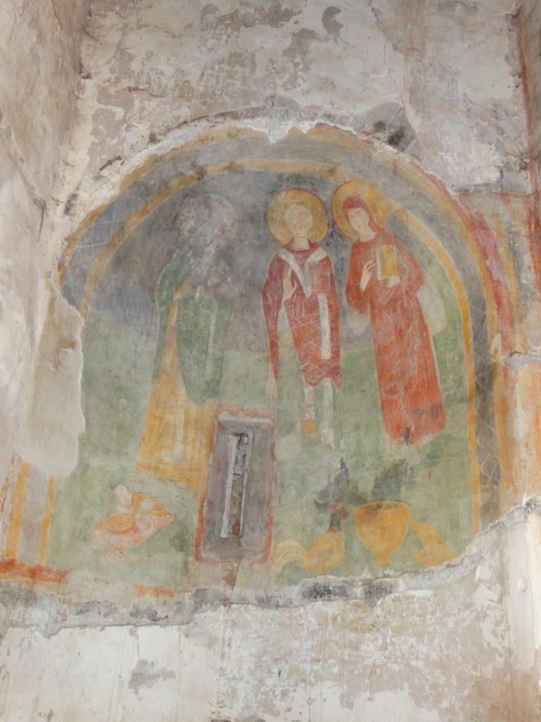 Image 30. Santa Maria di Foro Cassio, left absidiole. ©2015 Carlo Tedeschi