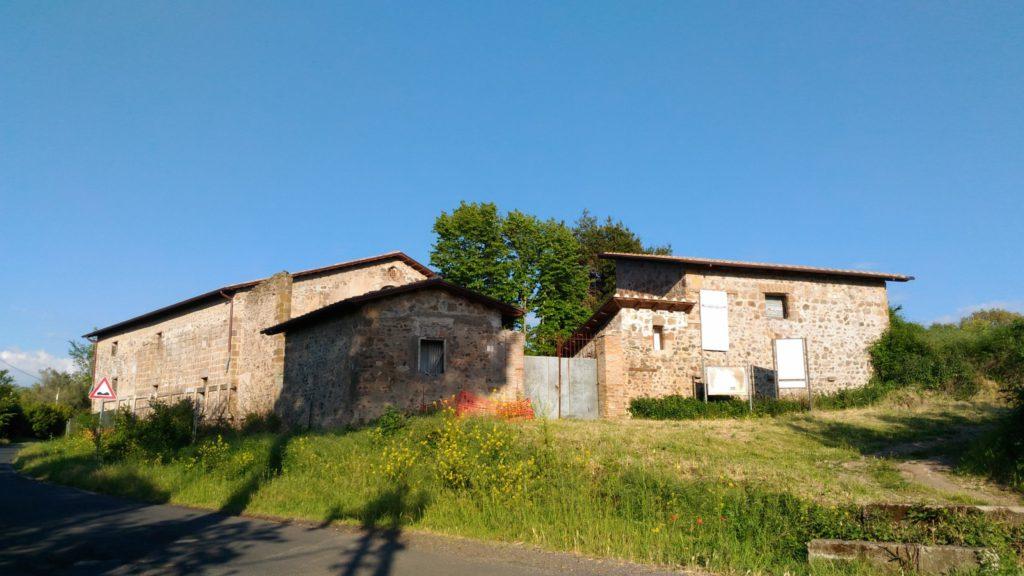 Image 6. Exterior of Santa Maria di Foro Cassio, as seen in 2017. ©2017 Daniela Giosuè