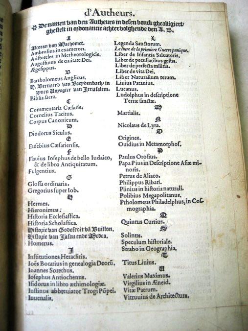Image 5: Voyage van Mher Joos van Ghistele, 1557 edition, by Hendrik Van den Keere, Antwerp, 5r. Brussels, Royal Library, 25.994 A.