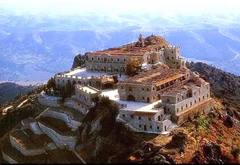 Image 1. The Monastery of the Holy Cross (Stavrovouni), Cyprus today. [Source: https://archive.churchofcyprus.org.cy, with permission]