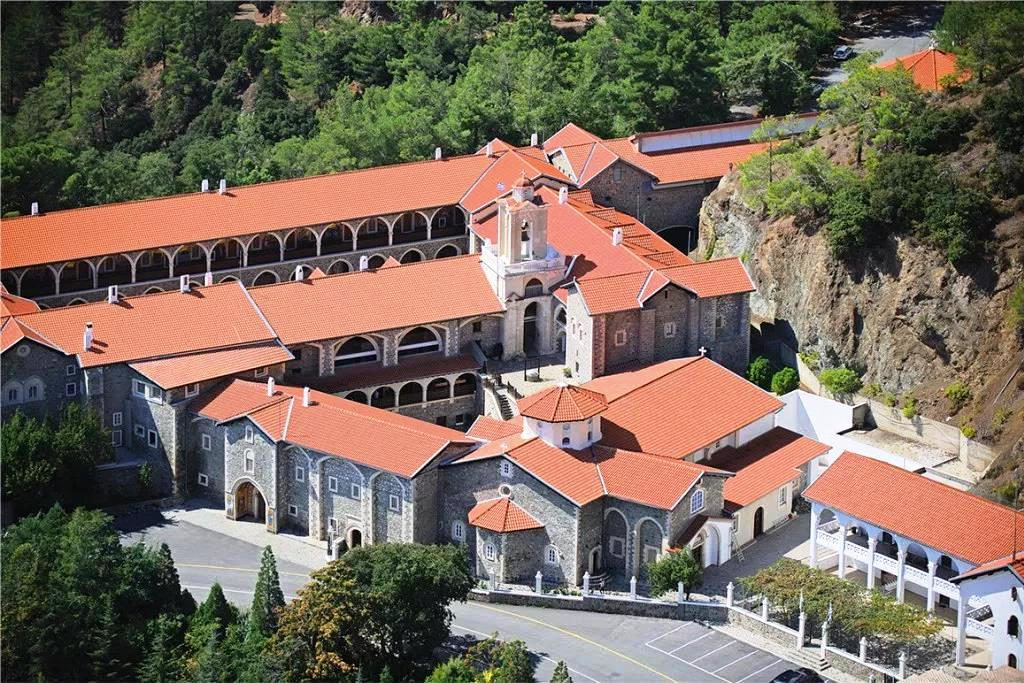 Image 3. The Monastery of the Virgin of Kykkos, Cyprus today. [Source: http://www.kykkos.org.cy, with permission]