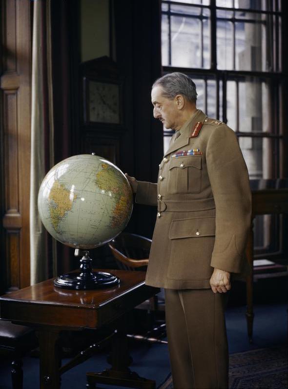 General Sir Alan Brooke, Chief of General Staff, 1942 (Credit: IWM (TR 144))