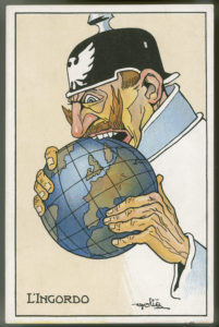 Geschichte / Weltkrieg I / Karikaturen / internationale