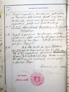 Patient case history (Credit: University Psychiatric Hospital Vrapce, Zagreb, Croatia)