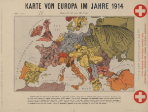 europe satirical map