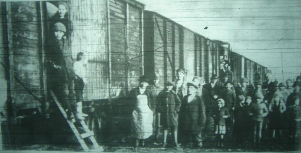 """Railway Dwellers,"" 1920."