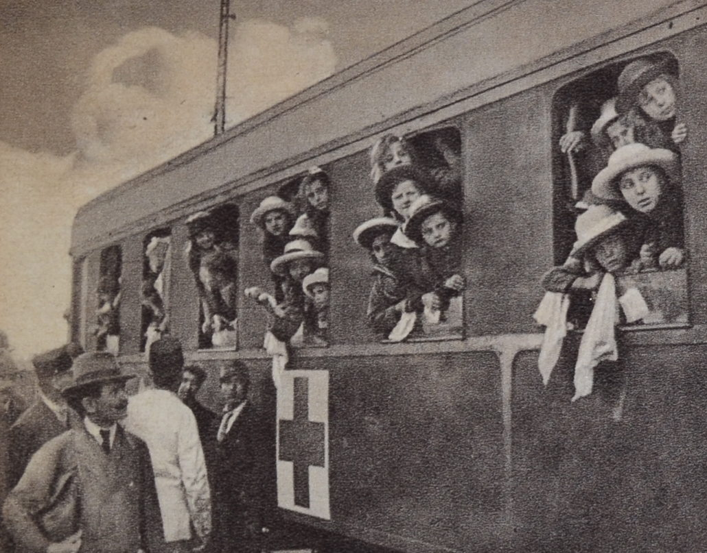 """Child Holiday Train,"" 1921.[i]"