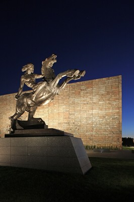 Peter Kiewit Foundation Sculpture Garden: The Joslyn Art Museum, Omaha, NE