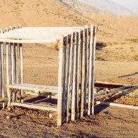 Cart Cemetery Sculpture Park, Puaendo, Chile