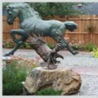 Skagway Sculpture and Flower Garden, Alaska