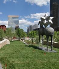 Citygarden New Urban Sculpture Park Opens In St Louis Mo