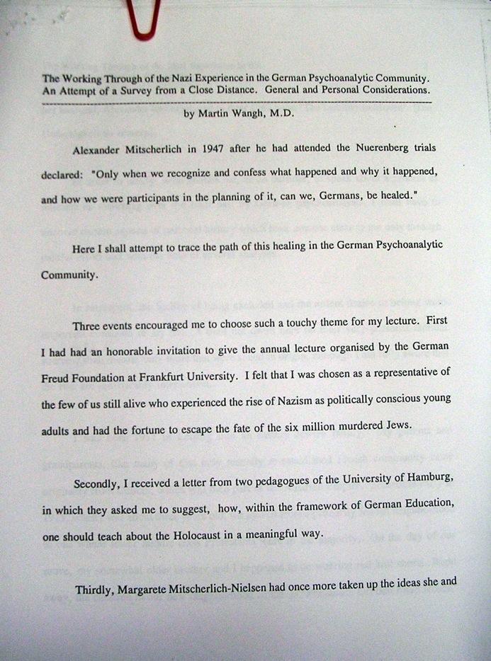 fascism psychoanalysis new york psychoanalytic society and this
