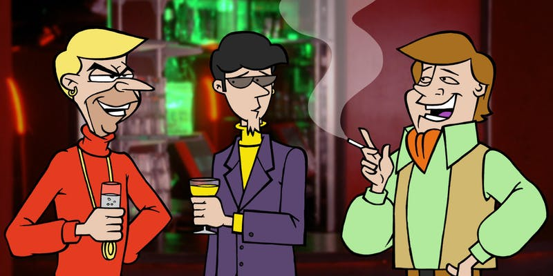 A still from Scooby Do
